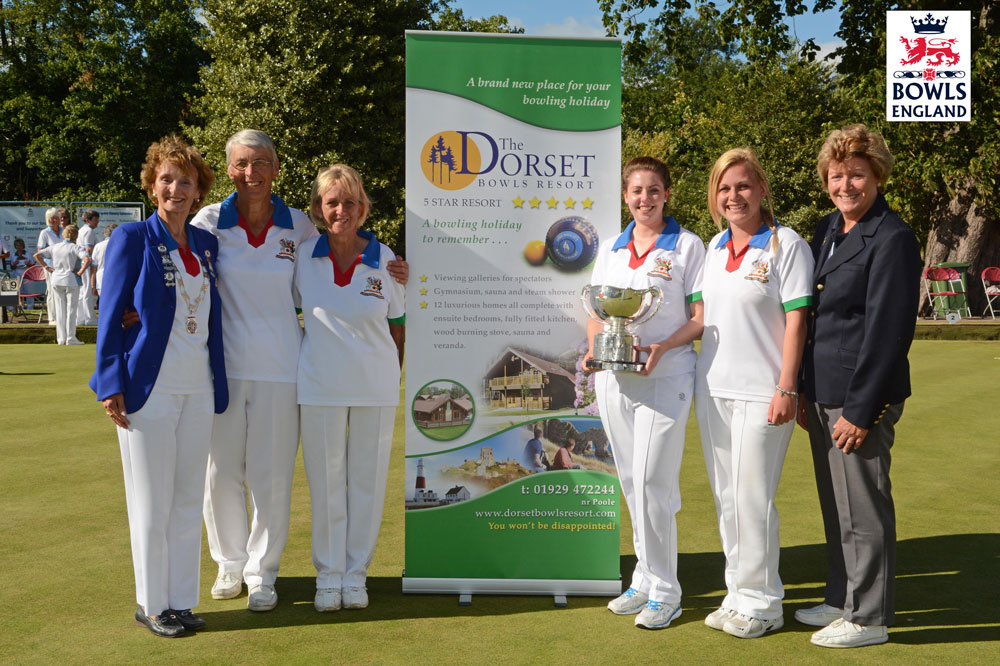 Bowls-Ladies-fours-Dorset-Bowls-Resort
