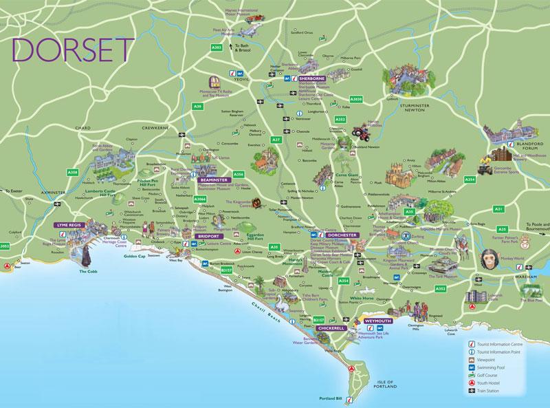 Dorsetattractionsmap2
